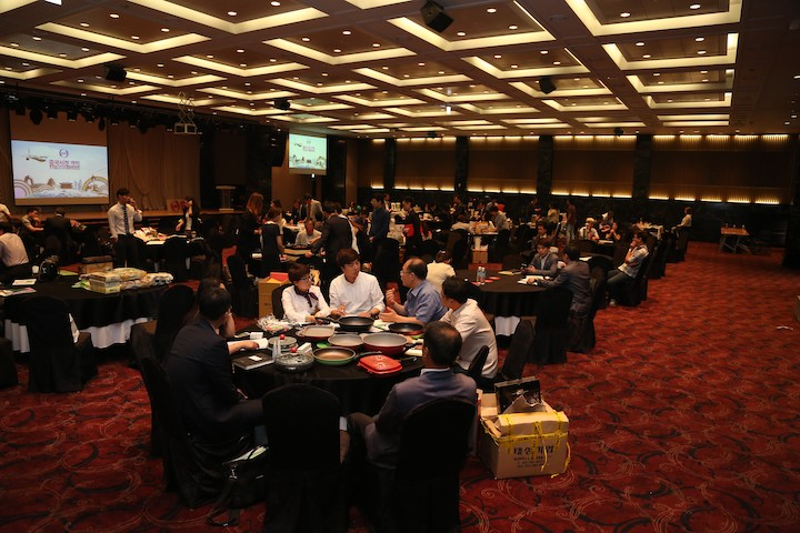 Over 100 Korean local enterprises negotiated on cooperation with GHS