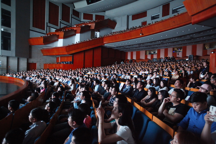Over 1,000 suppliers and partners participated in the conference at Poly Theatre
