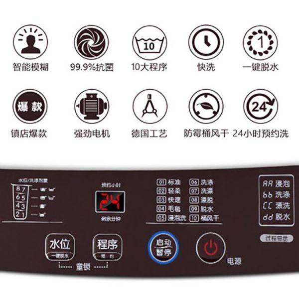 tcl5.5kg洗衣机xqb55-36sp